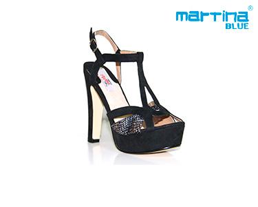 Sandálias de Salto Alto Martina Blue® | Preto