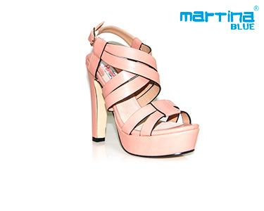 Sandálias de Salto Alto Martina Blue®   Crú