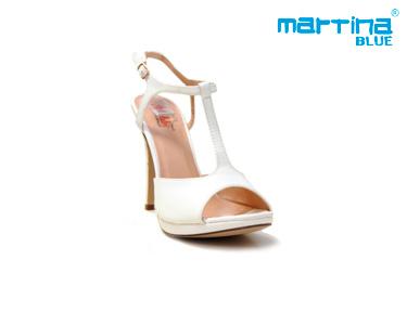 Sandálias de Salto Martina Blue®   Branco
