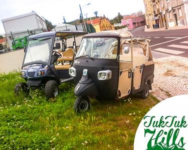 Passeio de TukTuk Ecológico pela Maravilhosa Lisboa - Até 5 Pessoas | 1 Hora