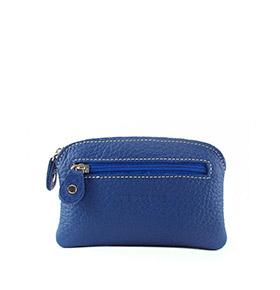 Carteira em Pele 04050032A   Azul
