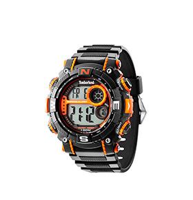 Relógio Timberland® Tremont | Preto e Laranja