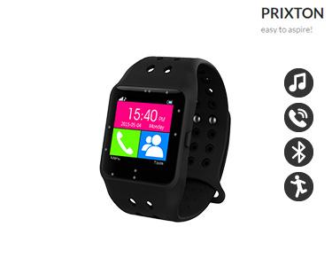 Smartwatch SW11 Preto Prixton® | Compatível com IOS & Android
