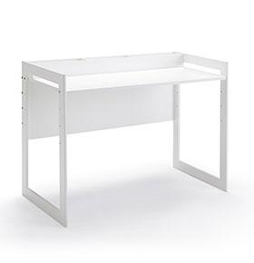 Mesa de Escritório Ajustável | Branco