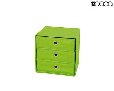 Caixa Desdobrável c/ Gavetas | Verde