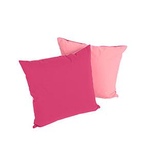 2 Almofadas 50 x 50 cm | Rosa
