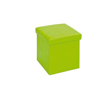 Puff c/ Armazenamento | Verde