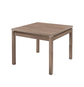 Mesa em Melamina Raff | Cinzento