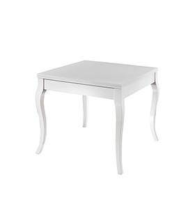 Mesa em Madeira e Lacada Miami | Branco