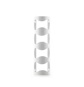 Garrafeira de Parede Metálica | Branco