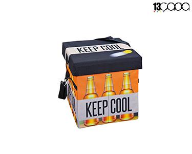 Geleira Dobrável c/ Assento | Beer