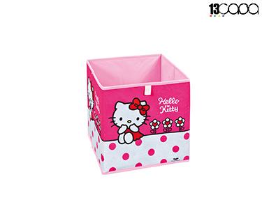 Caixa p/ Arrumação Hello Kitty | Fuschia