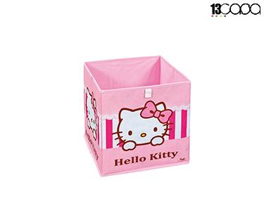 Caixa p/ Arrumação Hello Kitty | Rosa