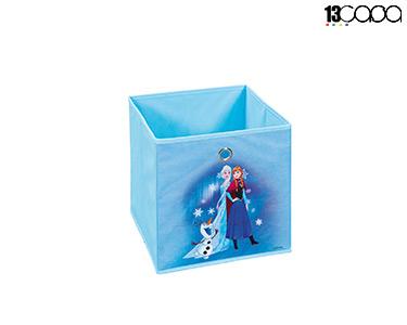 Caixa p/ Arrumação Frozen   Elsa e Ana