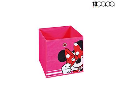 Caixa p/ Arrumação Minnie | Rosa