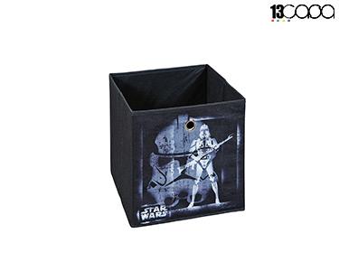 Caixa p/ Arrumação Star Wars   Preto