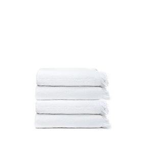 4 Toalhas Casa Di Bassi® em Algodão WS4X4 | Branco