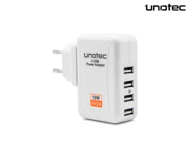 Carregador Unotec® | 4xUSB
