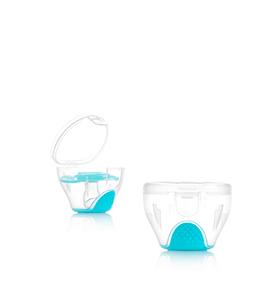 Porta Chupetas e Esterilizador 2 em 1 | Azul
