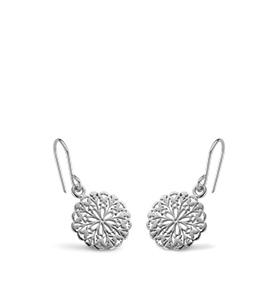 Brincos Rhea® Silver | Flower