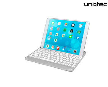 Teclado Bluetooth Ultra Slim para iPad Air/ Air 2/ Pro 9,7' | Unotec®