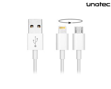 Cabo de 8 Pins com Micro USB | Unotec®