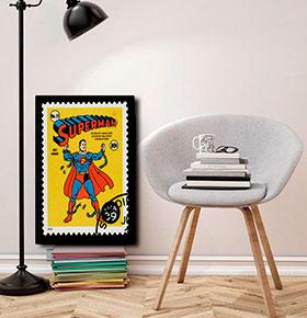 Quadro Superman CGFR4030-19   40x30cm