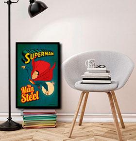 Quadro Superman CGFR4030-41 | 40x30cm