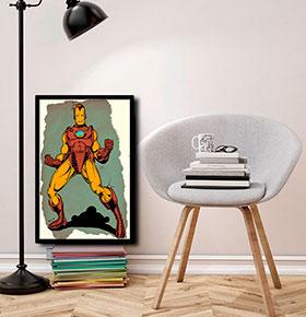 Quadro Iron man CGFR4030-42 | 40x30cm