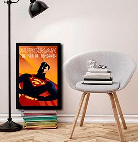 Quadro Superman CGFR4030-60   40x30cm