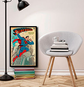 Quadro Superman CGFR4030-61 | 40x30cm