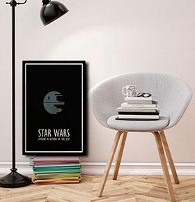 Quadro Star wars CGFR4030-64   40x30cm