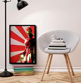 Quadro Iron man CGFR4030-78 | 40x30cm