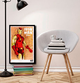 Quadro Iron man CGFR4030-79   40x30cm