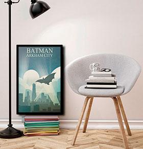 Quadro Batman CGFR4030-100   40x30cm