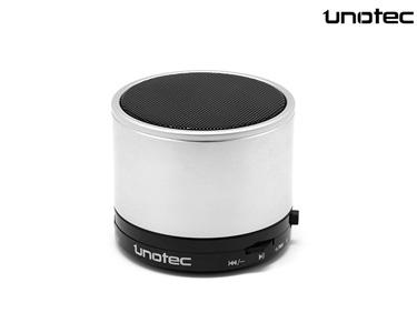 Coluna Bluetooth Maxround Unotec® | Cinza