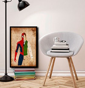 Quadro Spiderman CGFR4030-122   40x30cm