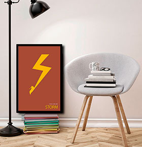 Quadro The flash CGFR4030-159 | 40x30cm