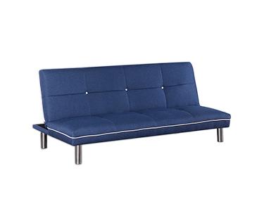 Sofá Cama Tecido Run   Azul