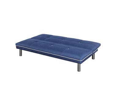 Sofá-Cama em Tecido Run | Azul