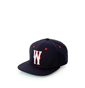 Chapéu Wesc®   Navy e Vermelho
