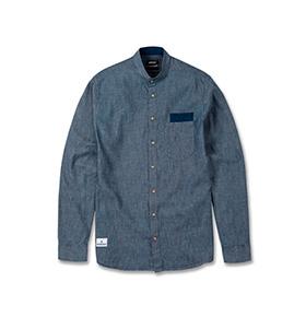 Camisa Wesc® Maroccan   Azul