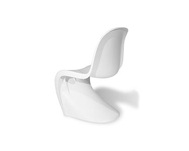 Cadeira Estilo Phantom   Branco