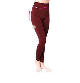 Legging Adelgaçante Anaissa® 4200   Bordô