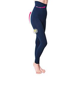 Legging com Cinta Adelgaçante Anaissa® 6000   Azul Marinho