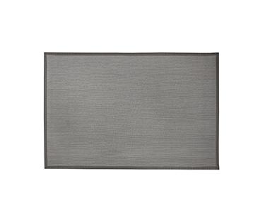 Tapete Tecido de Vinil Debrum Cinza  | 60X90