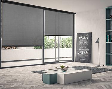 Estore Enrolável Screen Preto | Escolha o Tamanho