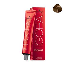 Creme de Coloração Royal 7-0 Castanho Médio Intenso Schwarzkopf® Professional | 60ml