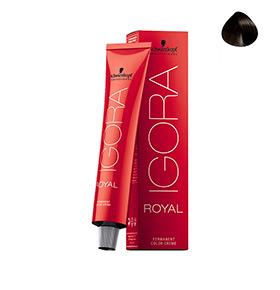 Creme de Coloração Royal 3-0 Castanho Escuro Schwarzkopf® Professional | 60ml