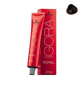 Creme de Coloração Royal 7-65 Castanho Dourado Schwarzkopf® Professional | 60ml
